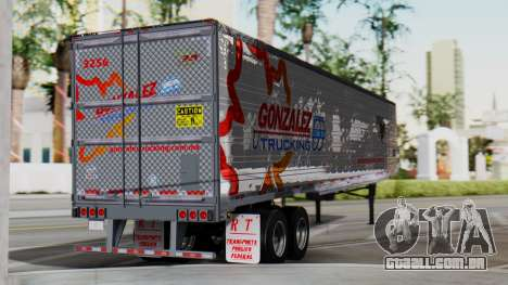 International ProStar Trailer para GTA San Andreas esquerda vista