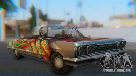 Savanna New PJ para GTA San Andreas esquerda vista