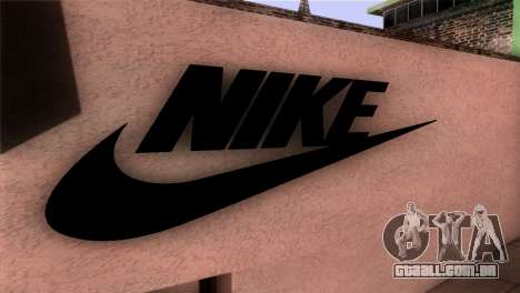 New Shop Nike para GTA San Andreas terceira tela