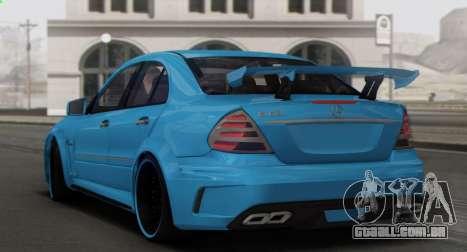 Mercedes-Benz E63 Qart Tuning para o motor de GTA San Andreas