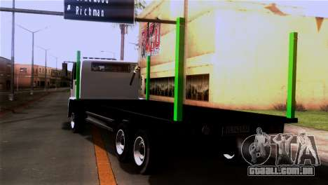New DFT-30 Wood para GTA San Andreas esquerda vista