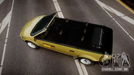 Schyster Cabby LX para GTA 4 vista direita