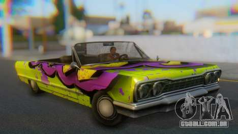Savanna New PJ para GTA San Andreas