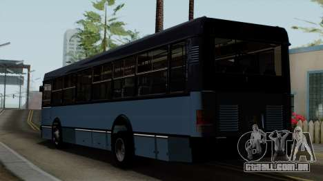 Ikarus 415 para GTA San Andreas esquerda vista