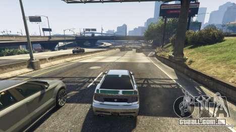 GTA 5 A morte armadilha na estrada quarto screenshot
