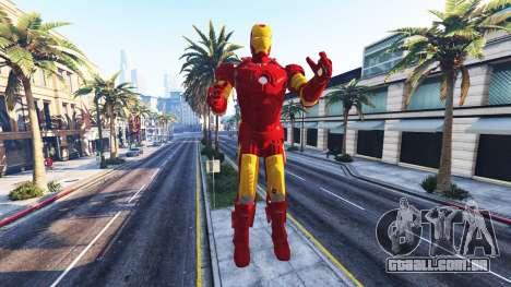 A estátua do homem de ferro para GTA 5