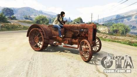 GTA 5 O tráfego na estrada quarto screenshot