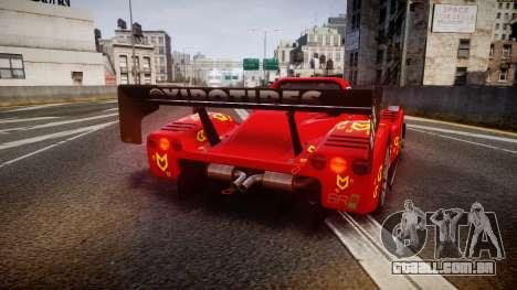 Radical SR8 RX 2011 [16] para GTA 4 traseira esquerda vista