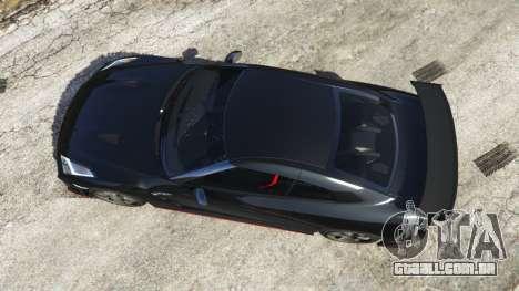 GTA 5 Nissan GT-R Nismo 2015 voltar vista