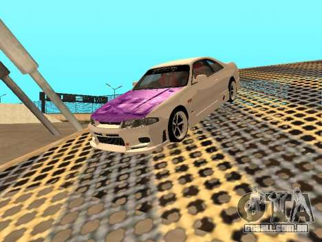 Nissan Skyline R33 Drift Monster Energy JDM para o motor de GTA San Andreas