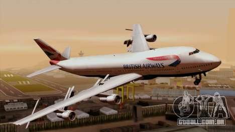 Boeing 747 British para GTA San Andreas