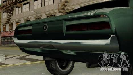Patriot Vegas G20 para GTA San Andreas vista traseira