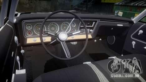 Chevrolet Impala 1967 Custom livery 4 para GTA 4 vista lateral