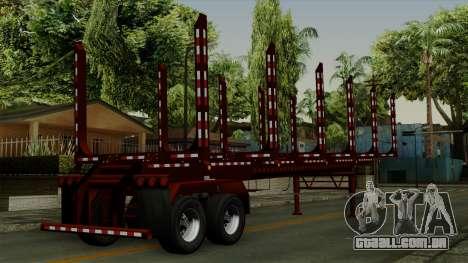 Trailer Log v1 para GTA San Andreas esquerda vista