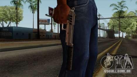 Original HD Silenced Pistol para GTA San Andreas terceira tela