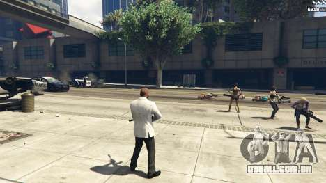 GTA 5 Bodyguard Menu 1.7 oitmo screenshot