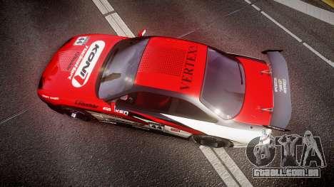 Nissan Silvia S14 Koni para GTA 4 vista direita
