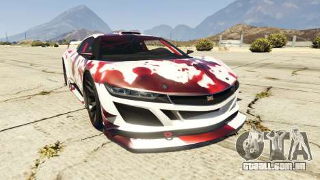 Dinka Jester (Racecar) Blood para GTA 5