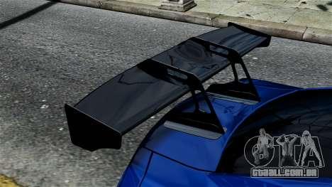 Nissan GT-R R35 Liberty Walk para GTA 4 vista direita