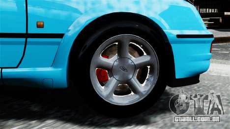 Ford Sierra RS Cosworth v2 para GTA 4 traseira esquerda vista