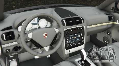 GTA 5 Porsche Cayenne Turbo S 2009 v0.5 [Beta] traseira direita vista lateral