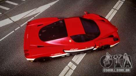 Ferrari Enzo 2002 [EPM] Scuderia Ferrari para GTA 4 vista direita