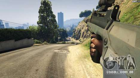 GTA 5 Battlefield 4 Famas sétima screenshot