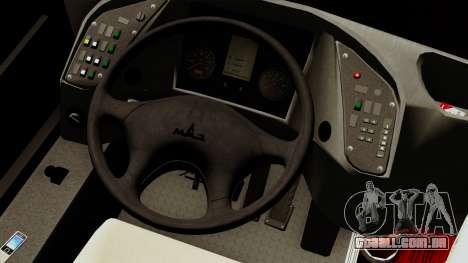 MAZ 226.065 para GTA San Andreas vista traseira
