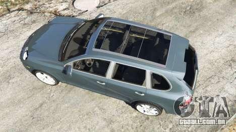 GTA 5 Porsche Cayenne Turbo S 2009 v0.5 [Beta] voltar vista
