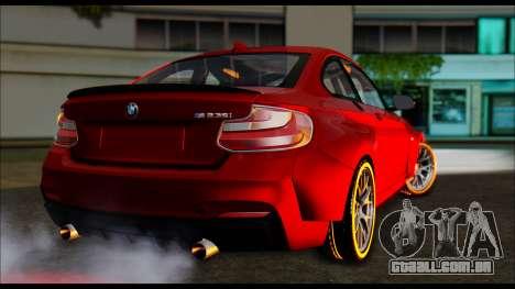 BMW 235i F22 para GTA San Andreas esquerda vista