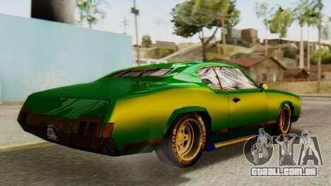 New Sabre Devil para GTA San Andreas esquerda vista