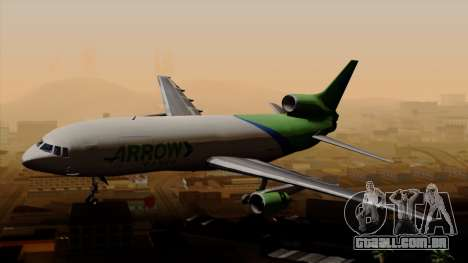 Lockheed L-1011 TriStar Arrow Air Cargo para GTA San Andreas