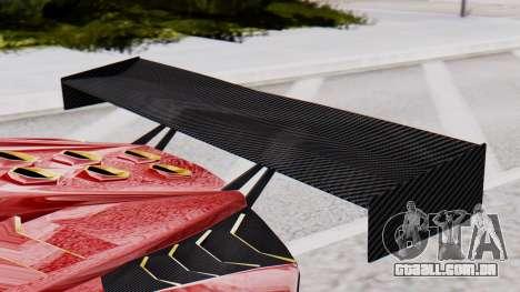 Pegassi Zentorno SM GT3 para GTA San Andreas vista direita
