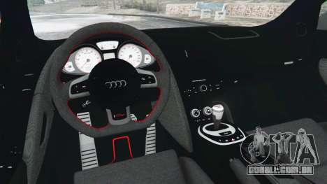 GTA 5 Audi R8 GT 2011 v0.5 [Beta] vista lateral direita