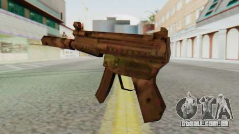 MP5K Silenced SA Style para GTA San Andreas segunda tela