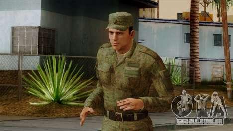 O processo moderno exército russo para GTA San Andreas