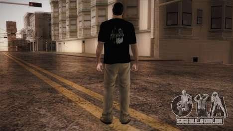 Bowling Player para GTA San Andreas terceira tela