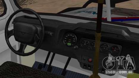 УАЗ 469 Ivan Braginsky para GTA San Andreas vista direita