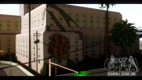 Hospital e Parque de skate para GTA San Andreas por diante tela