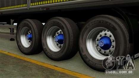 Bodex_TZ para GTA San Andreas traseira esquerda vista