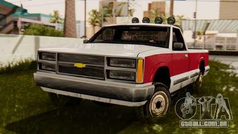 Chevrolet Silverado SA Estilo para GTA San Andreas