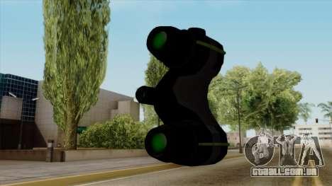 Original HD Thermal Goggles para GTA San Andreas terceira tela