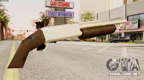 Sangrar original de ação de bomba espingardas para GTA San Andreas segunda tela