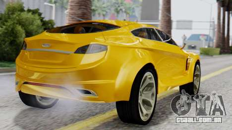 Ford Iosis para GTA San Andreas esquerda vista