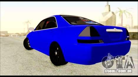 Toyota Mark 2 100 para GTA San Andreas esquerda vista