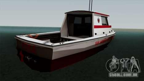 FDSA Reefer para GTA San Andreas esquerda vista