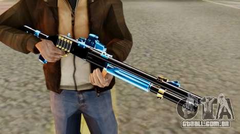Fulmicotone Chromegun para GTA San Andreas terceira tela