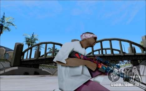 AWP Hyper Beast para GTA San Andreas terceira tela