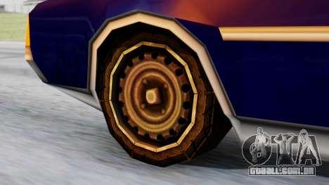 Clover Tuned para GTA San Andreas traseira esquerda vista