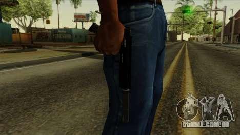 AP Pistol with Supressor para GTA San Andreas terceira tela